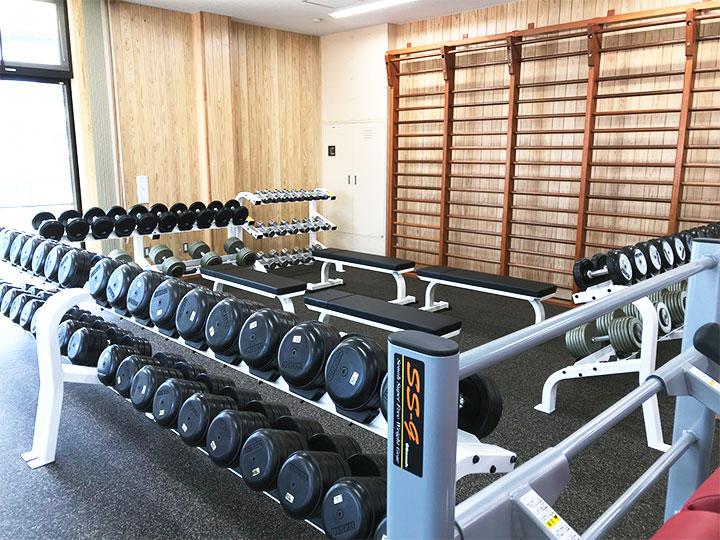 フリーウエイトトレーニング室